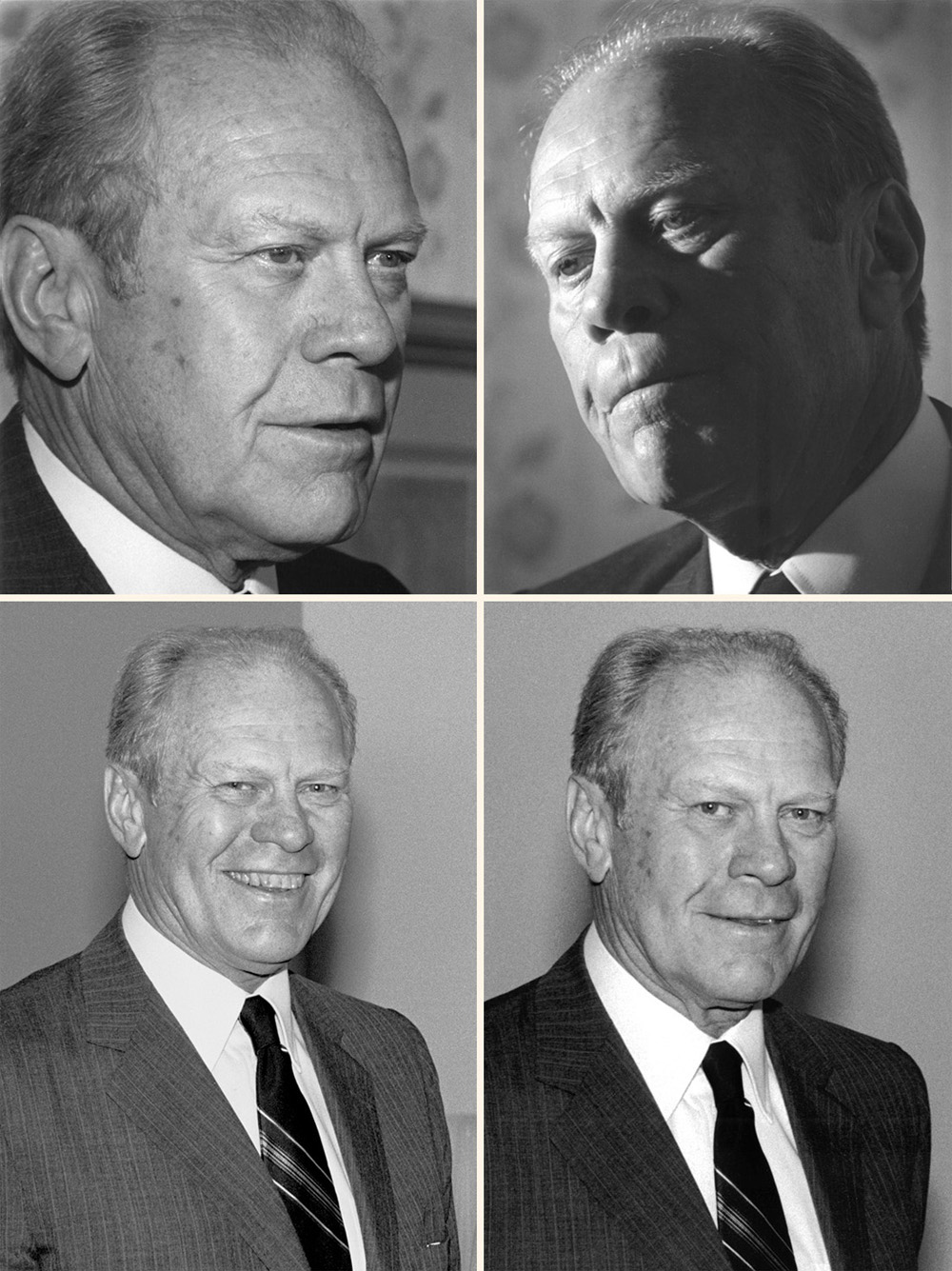 Mobile Alabama photographer Adrian Hoff's photos of President Gerald Ford.